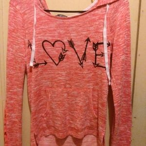 Miss Chevous Love Hooded Sweater